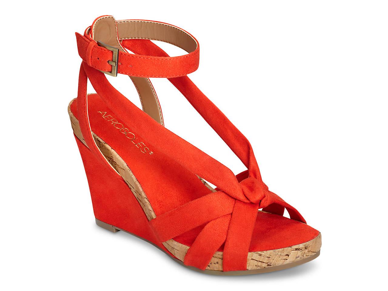 41d57d4864f9 Aerosoles Fashion Plush Wedge Sandal Women s Shoes