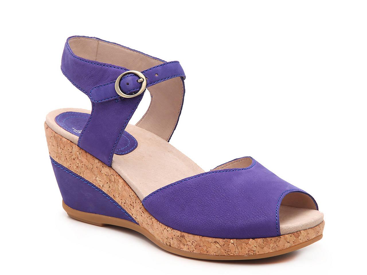 fe441d98a52 Dansko Charlotte Wedge Sandal Women s Shoes