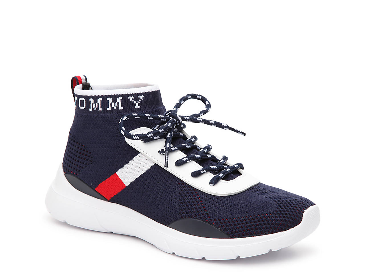 a5dc433b Tommy Hilfiger Cabello Mid-Top Sneaker Women's Shoes | DSW