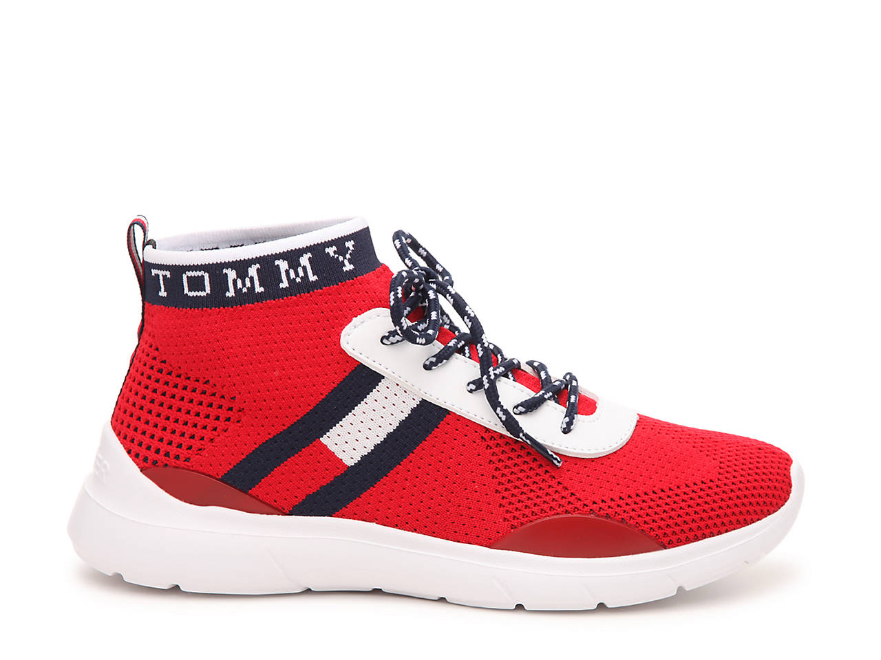 67e3c59be83a Tommy Hilfiger Cabello Mid-Top Sneaker Women s Shoes