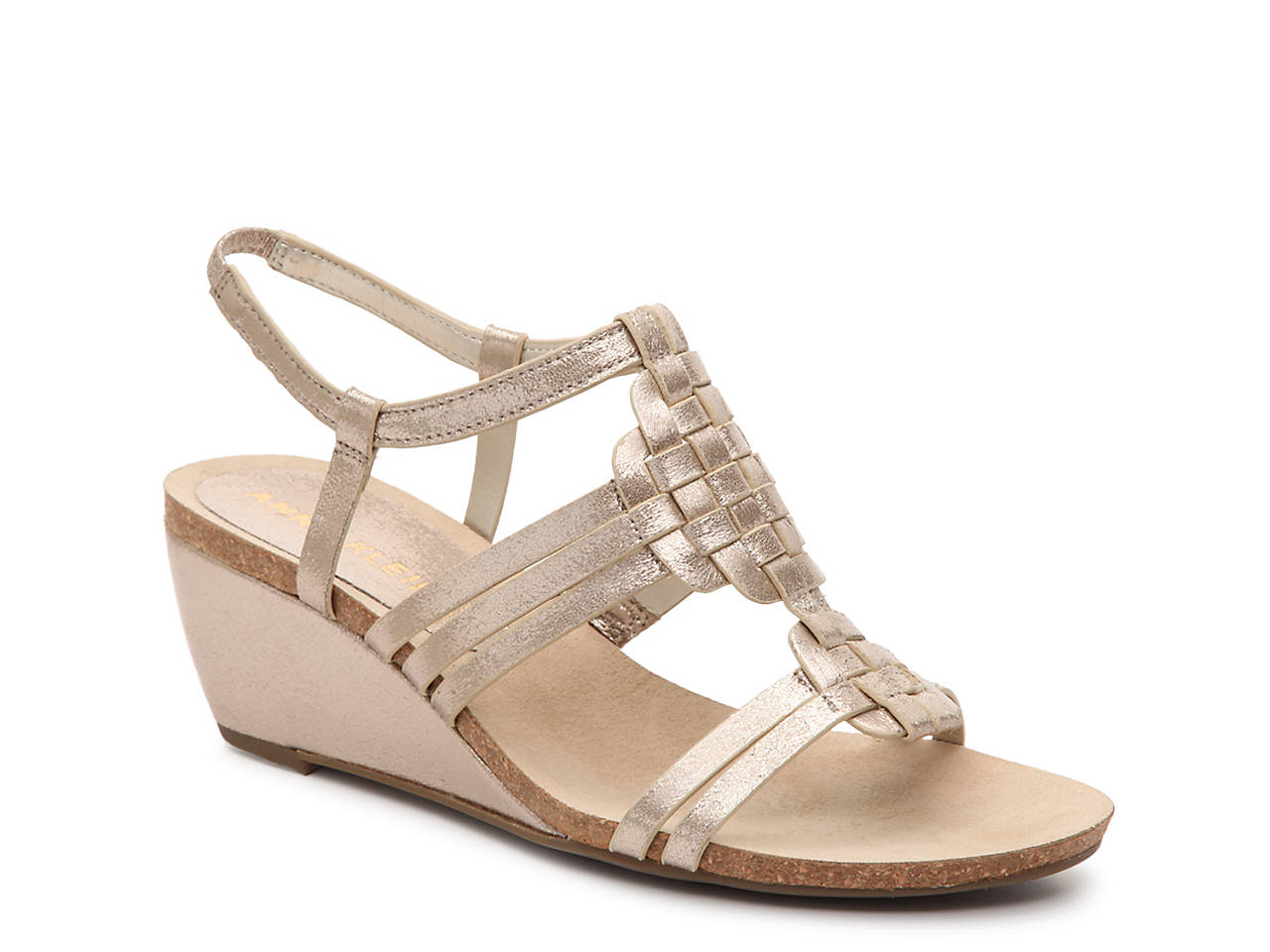 638845ef431a Anne Klein Tilly Wedge Sandal Women s Shoes