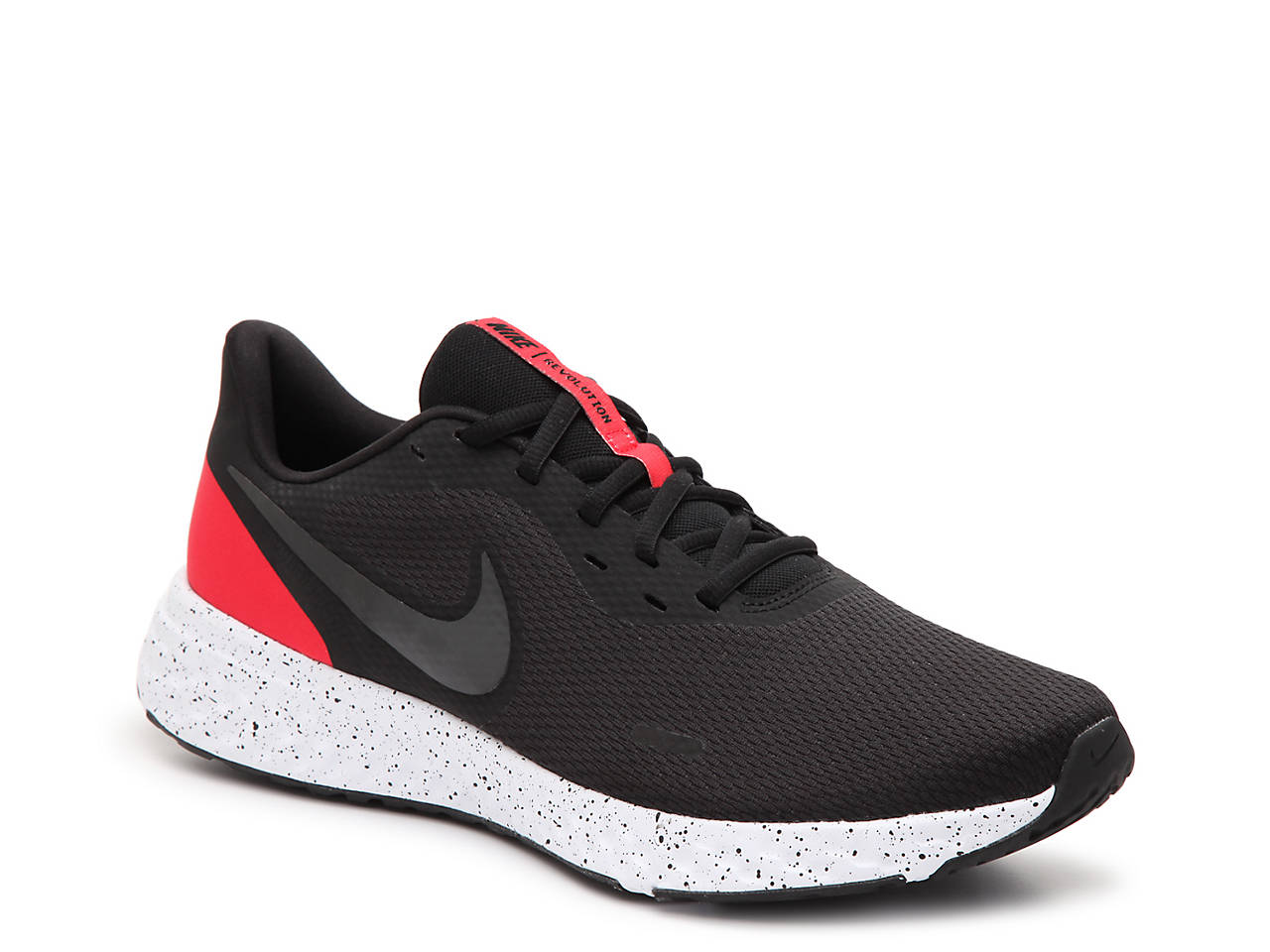 NIKE Flex Revolution Run 7 Herren blackwhite white