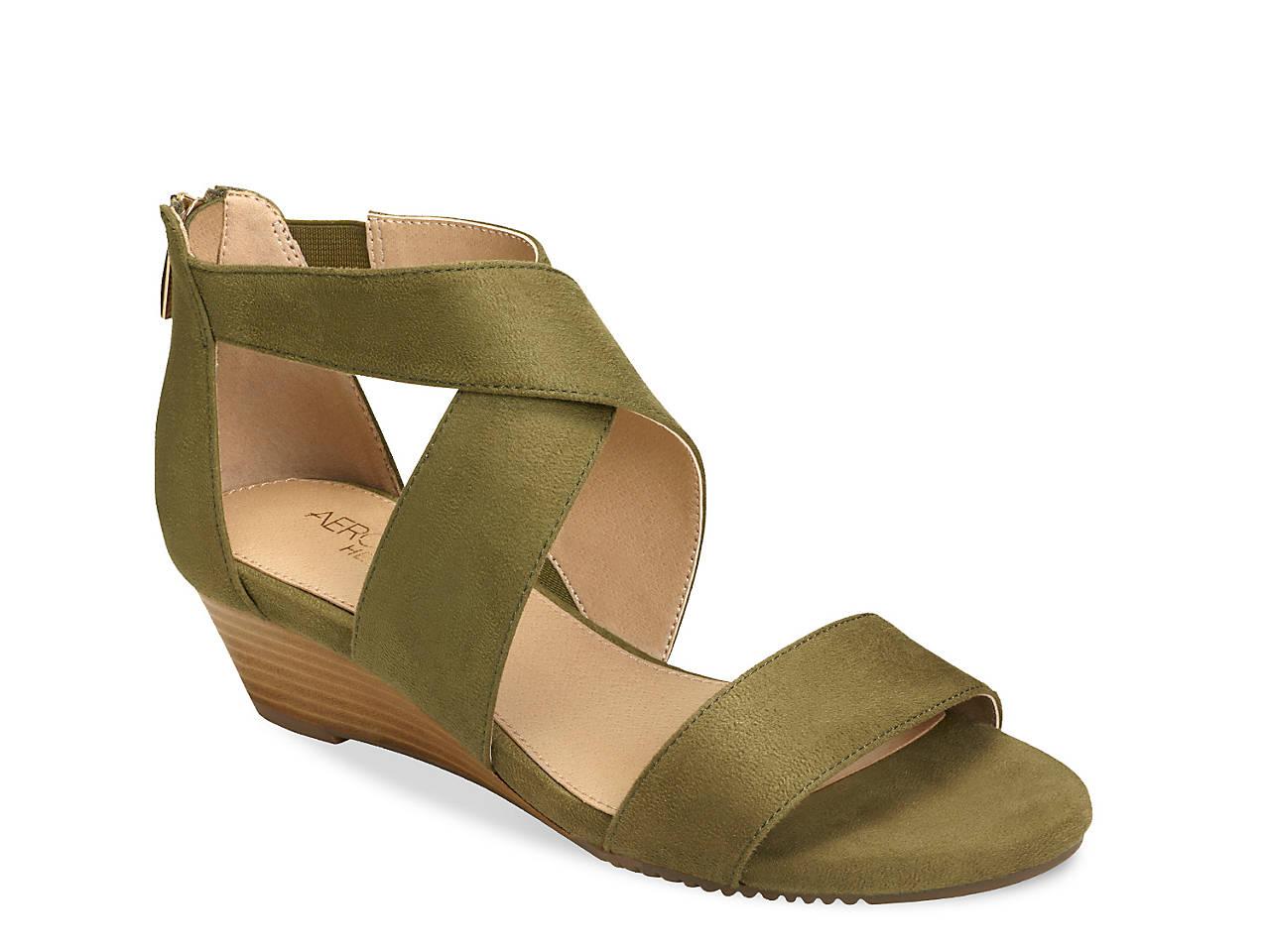 73c3ea679376e Aerosoles Apprentice Wedge Sandal Women's Shoes | DSW