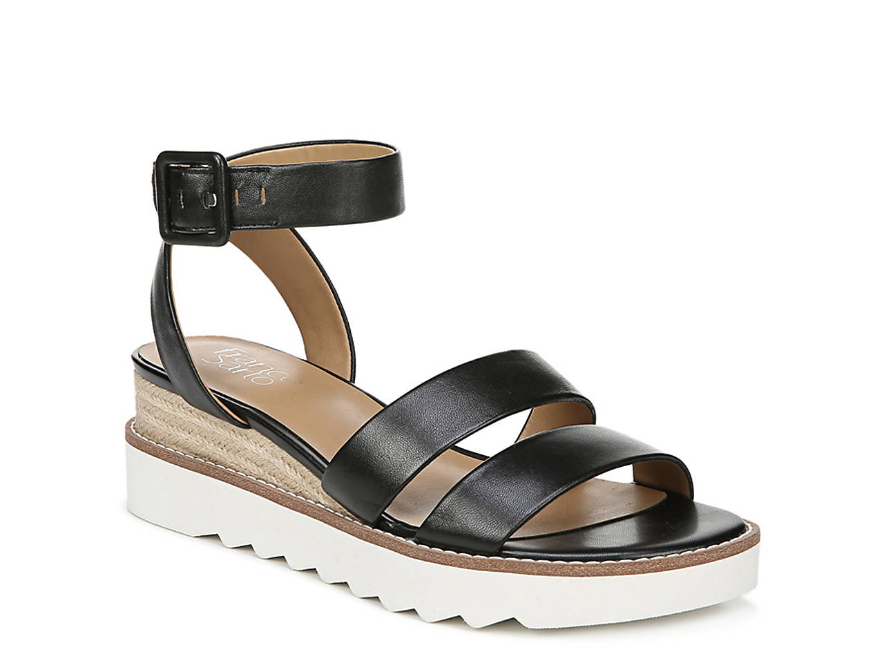 7aa32c792801 Franco Sarto Connolly Espadrille Wedge Sandal Women's Shoes | DSW
