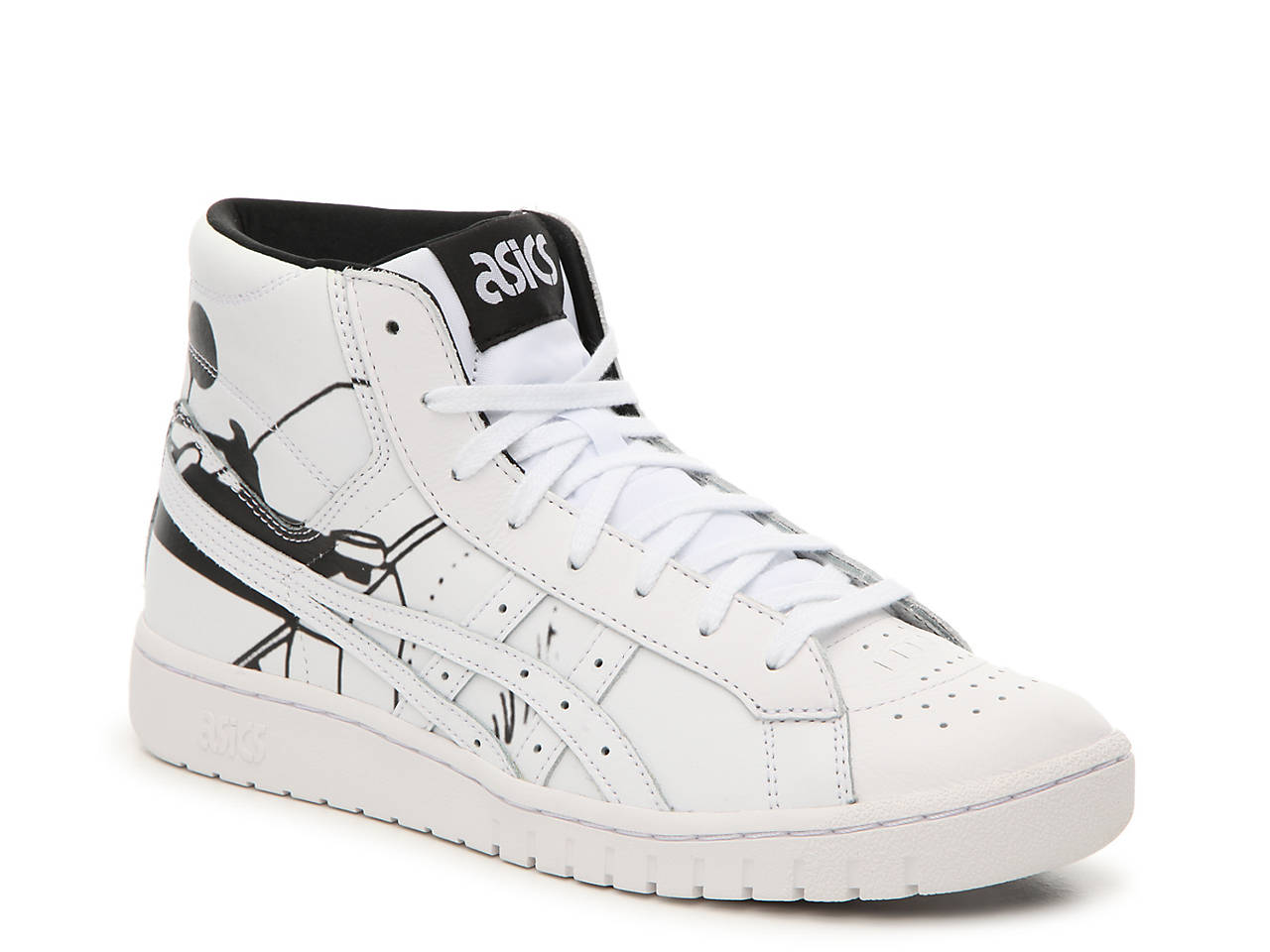 asics high top shoes