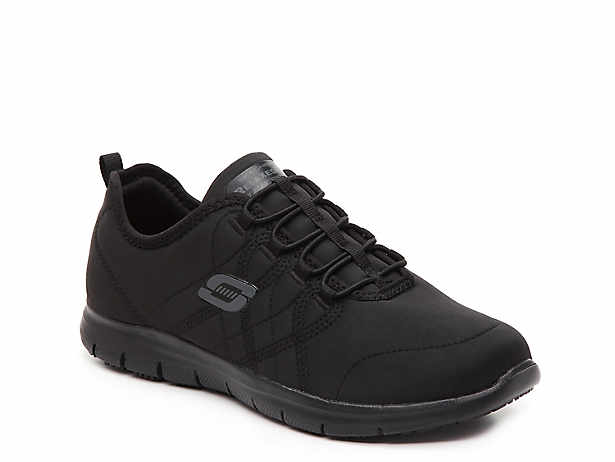 9683638273 Skechers Work Relaxed Fit Squad Work Slip-On Sneaker Women's Shoes | DSW