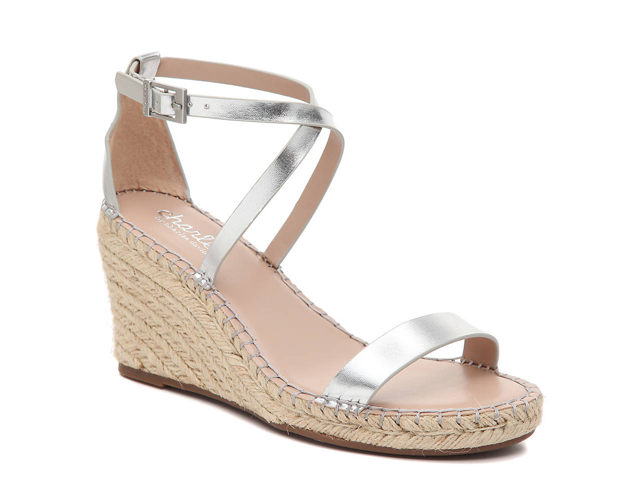 2df52f201e Charles by Charles David Nola Espadrille Wedge Sandal Women's Shoes ...