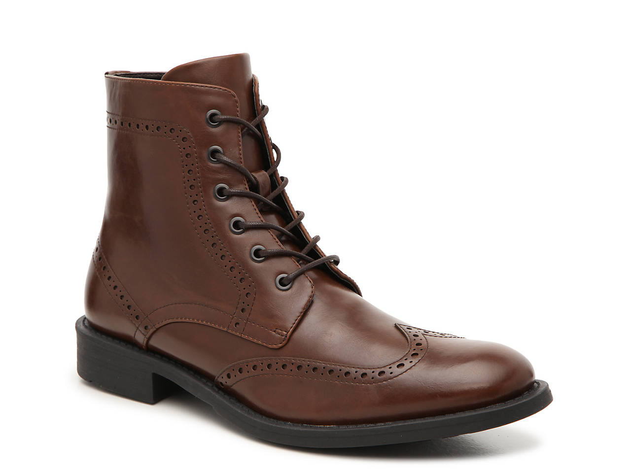 Blind Sided Wingtip Boot by Unlisted