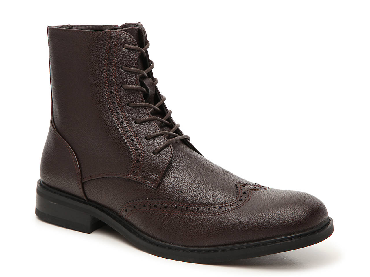 Buzzer Wing Tip Boot by Unlisted