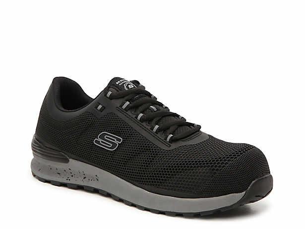 ef1e03cf457 Skechers Relaxed Fit Cankton Steel Toe Sneaker Men's Shoes | DSW