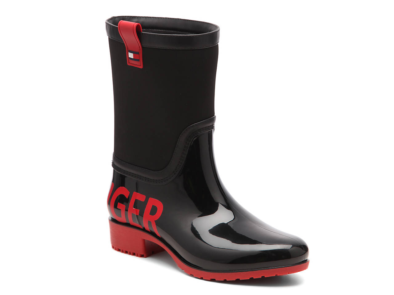 Desi Logomania Rain Boot by Tommy Hilfiger