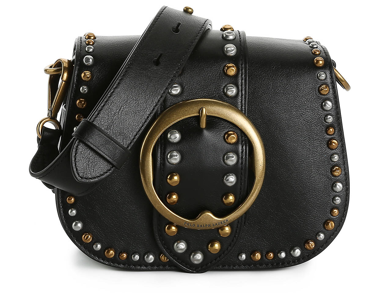 fb58bec0 Studded Lennox Leather Crossbody Bag