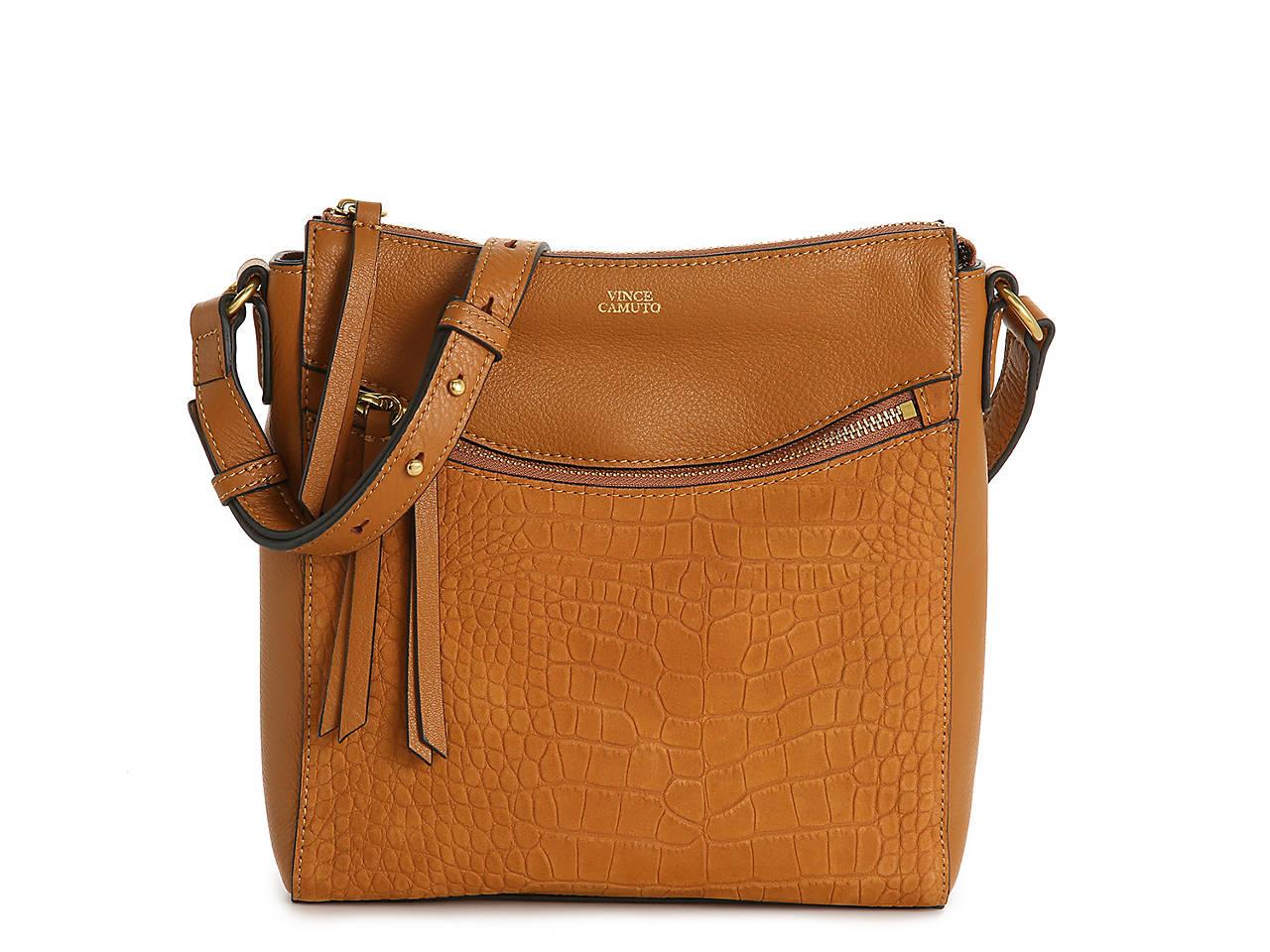 Taj Leather Crossbody Bag