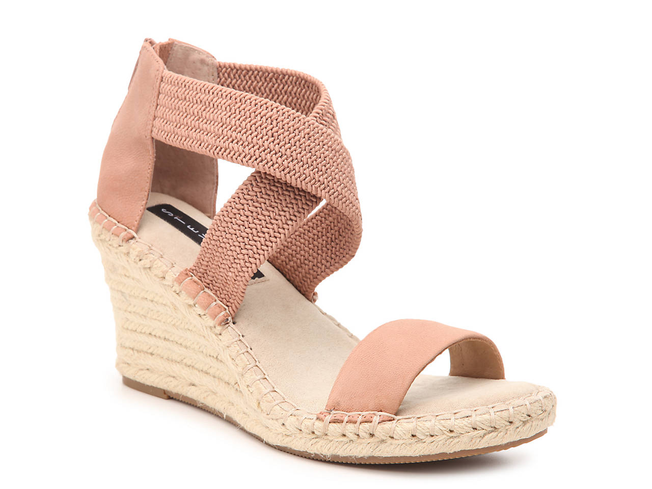 b62fcbcb2e9 Excited Espadrille Wedge Sandal