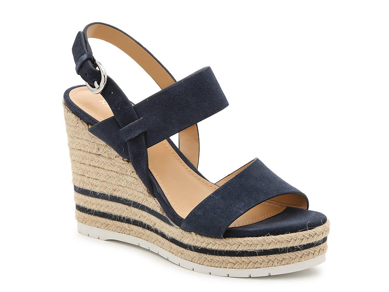 Alivia Espadrille Wedge Sandal by Nine West