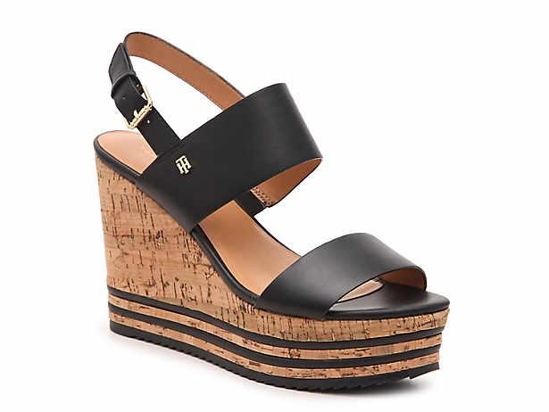 b59429b2afa Tommy Hilfiger Yazzi Espadrille Wedge Sandal Women's Shoes | DSW