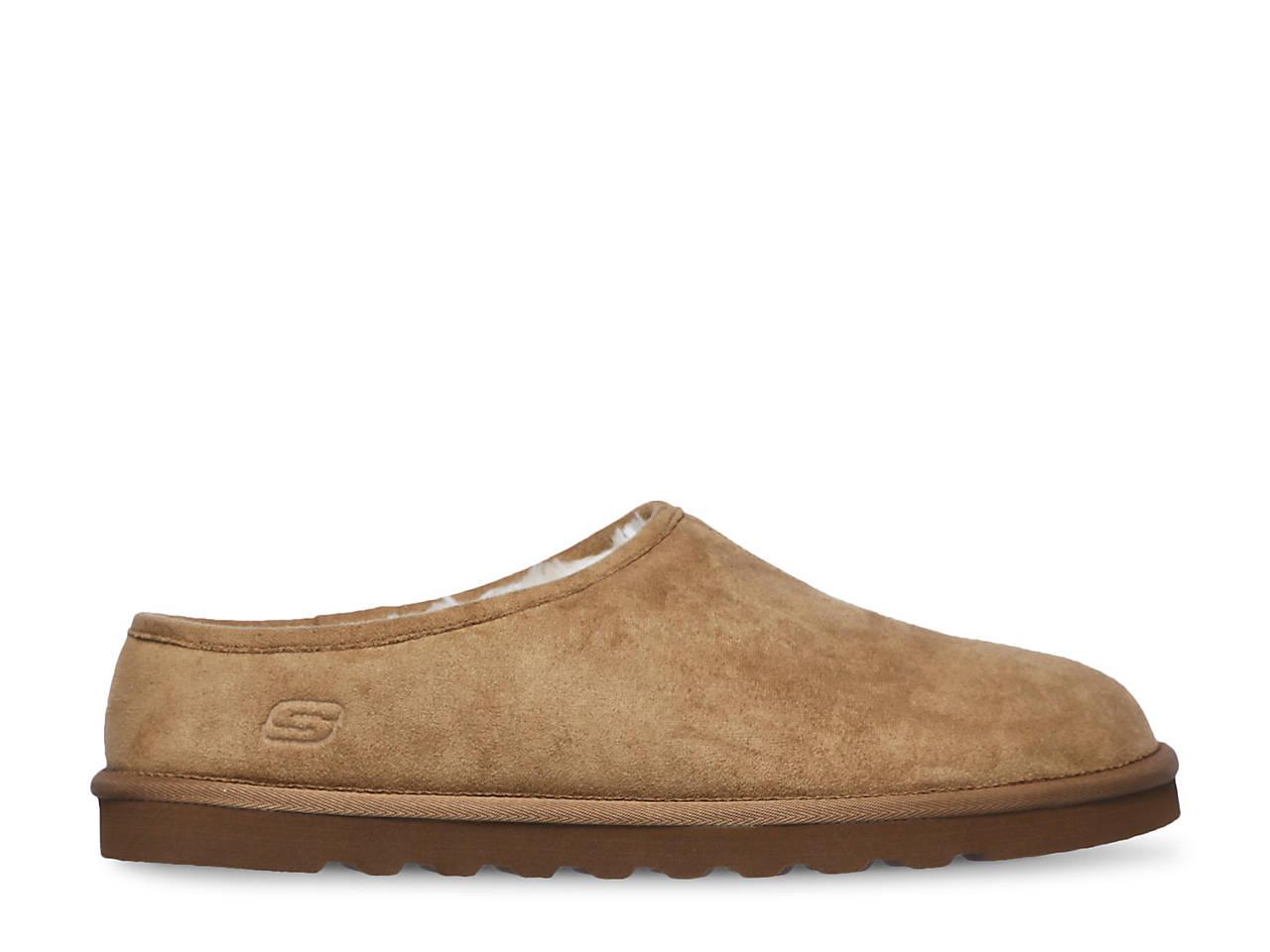 Shop Skechers Men's Relaxed Fit Renten Lemato Clog Slipper