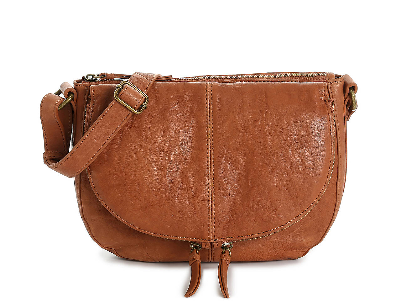 d10332d4cc37 Dev Leather Crossbody Bag