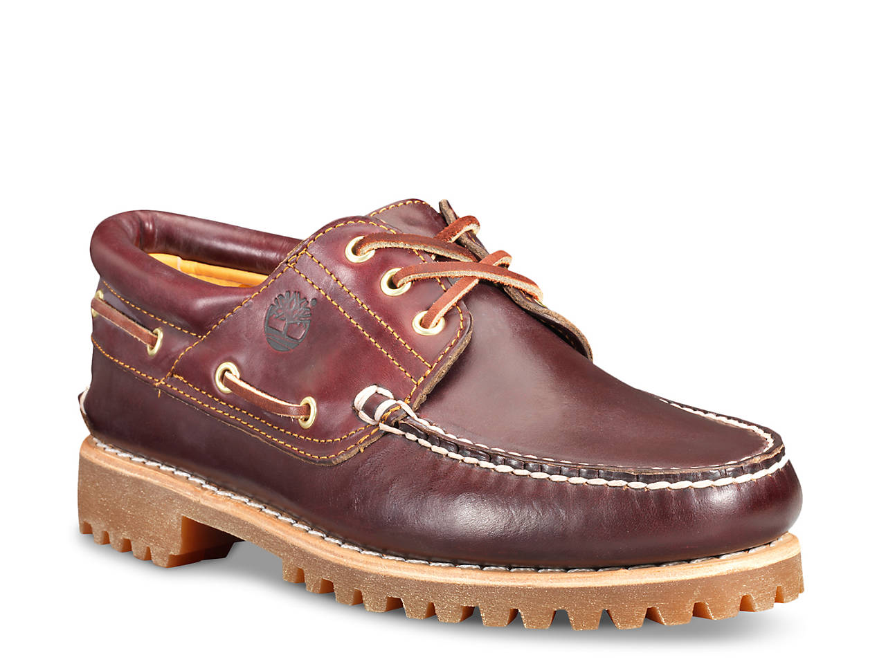 Details about Timberland Authentics Classic 3 Eye Lug Boat