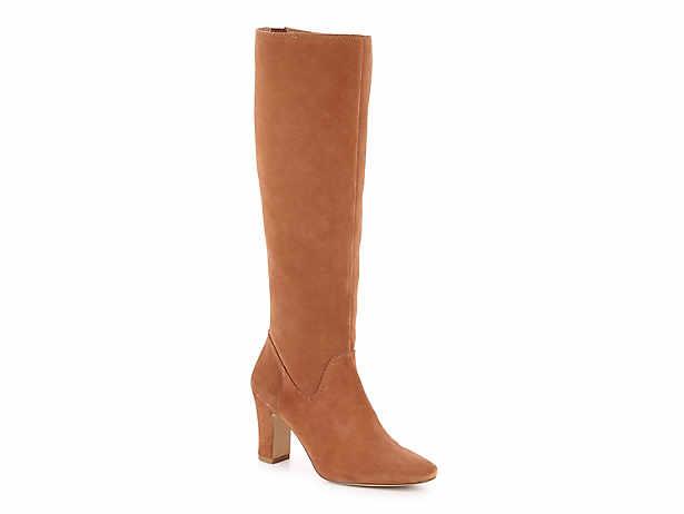Womens Shoes Knee High Boots Winter Round Toe High Heel Platform Heels Black