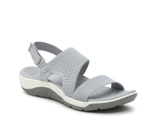 skechers memory foam womens sandals