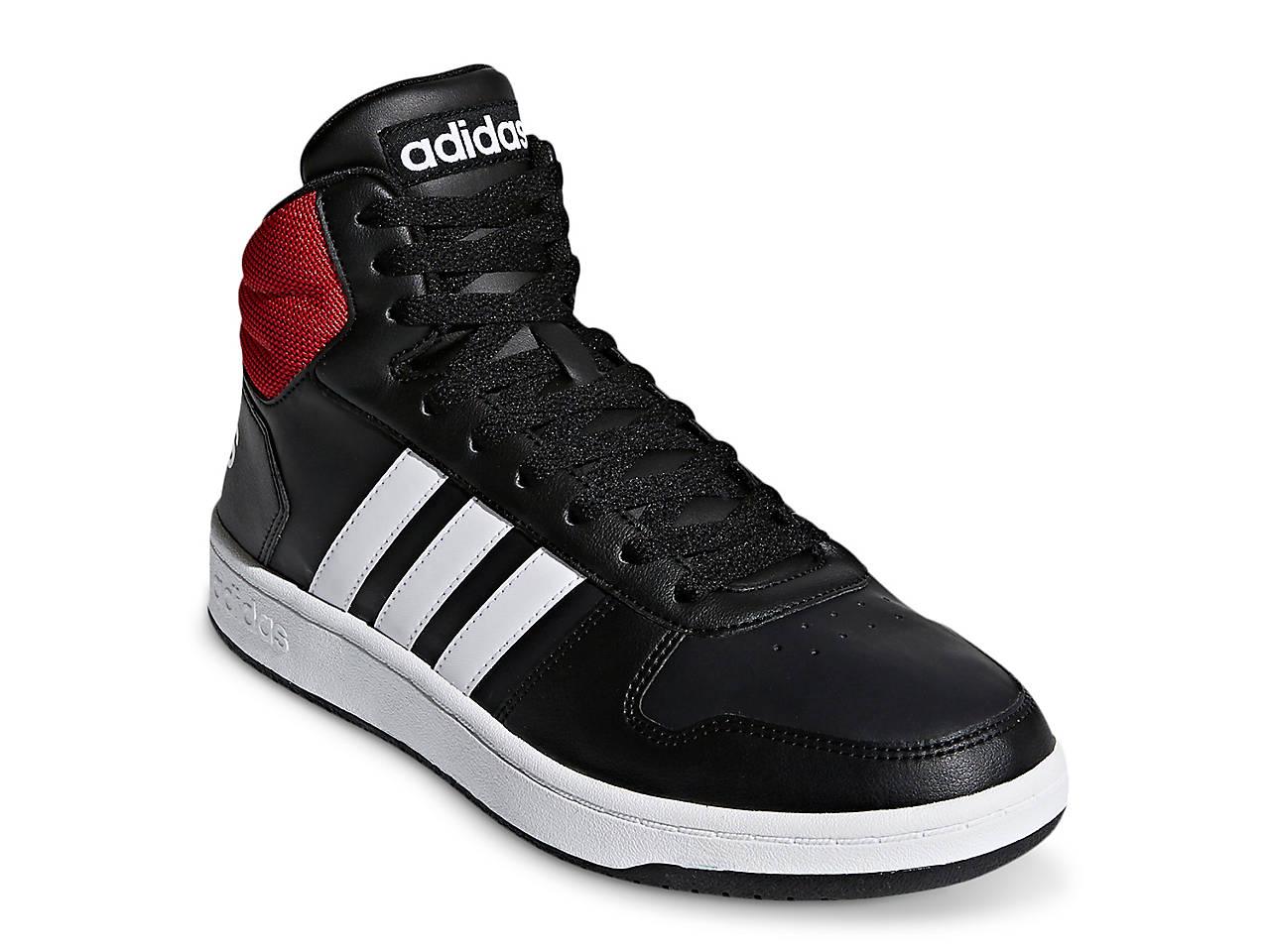 adidas Hoops 2.0 Mid Top Sneaker Men's Men's Shoes | DSW