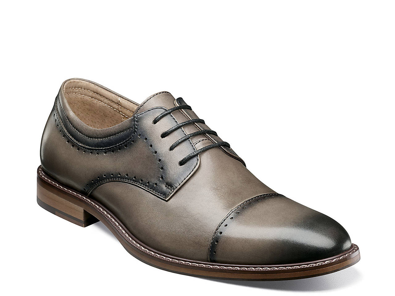 Flemming Cap Toe Oxford by Stacy Adams