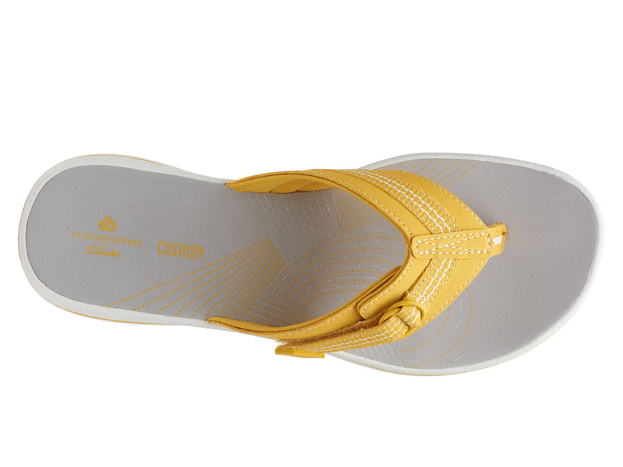 Cloudsteppers By Clarks Brinkley Sun Flip Flop Womens -1776