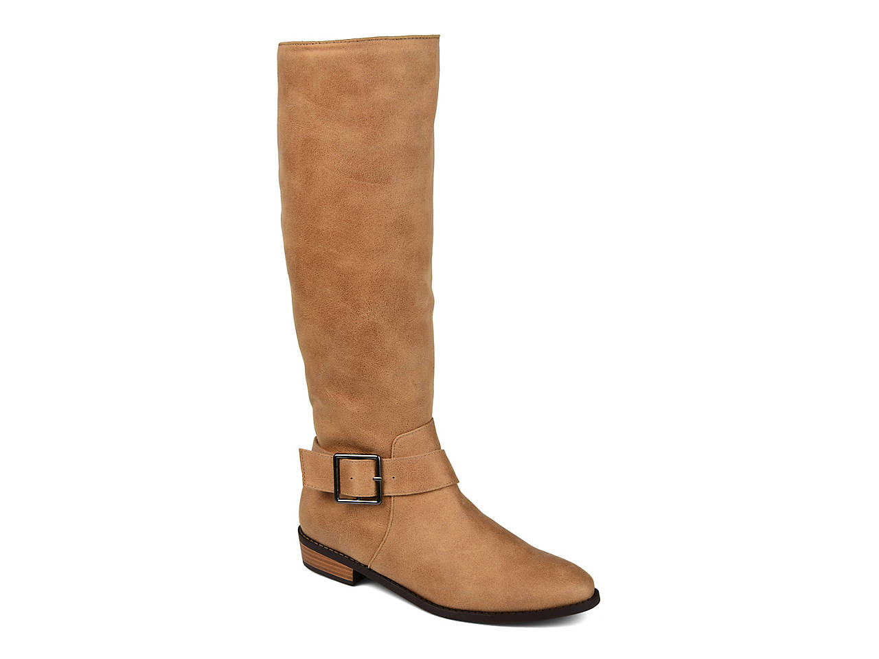 Winona Wide Calf Riding Boot by Journee Collection