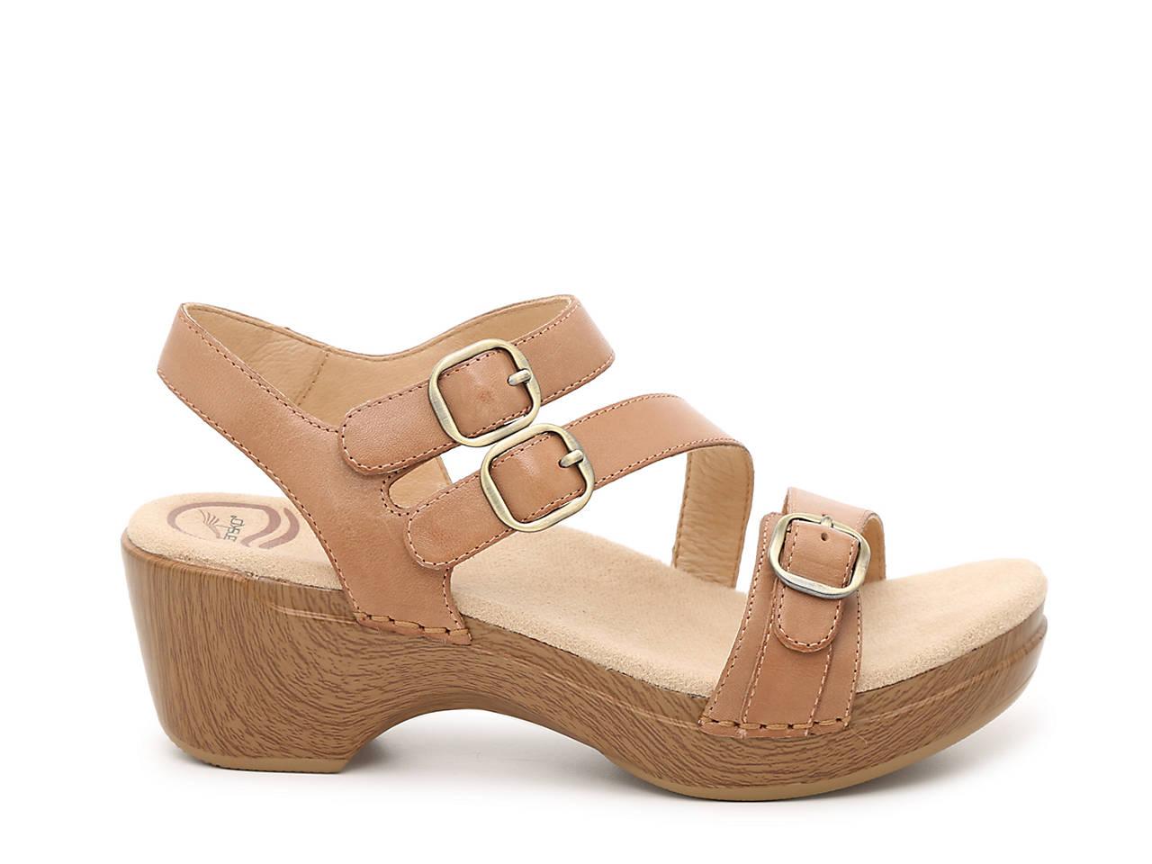 Dansko Sacha Platform Sandal Women's Shoes | DSW