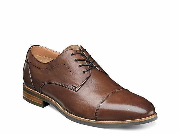 Florsheim Men/'s Midtown Cap Toe Oxford Cognac US Sizes//Widths
