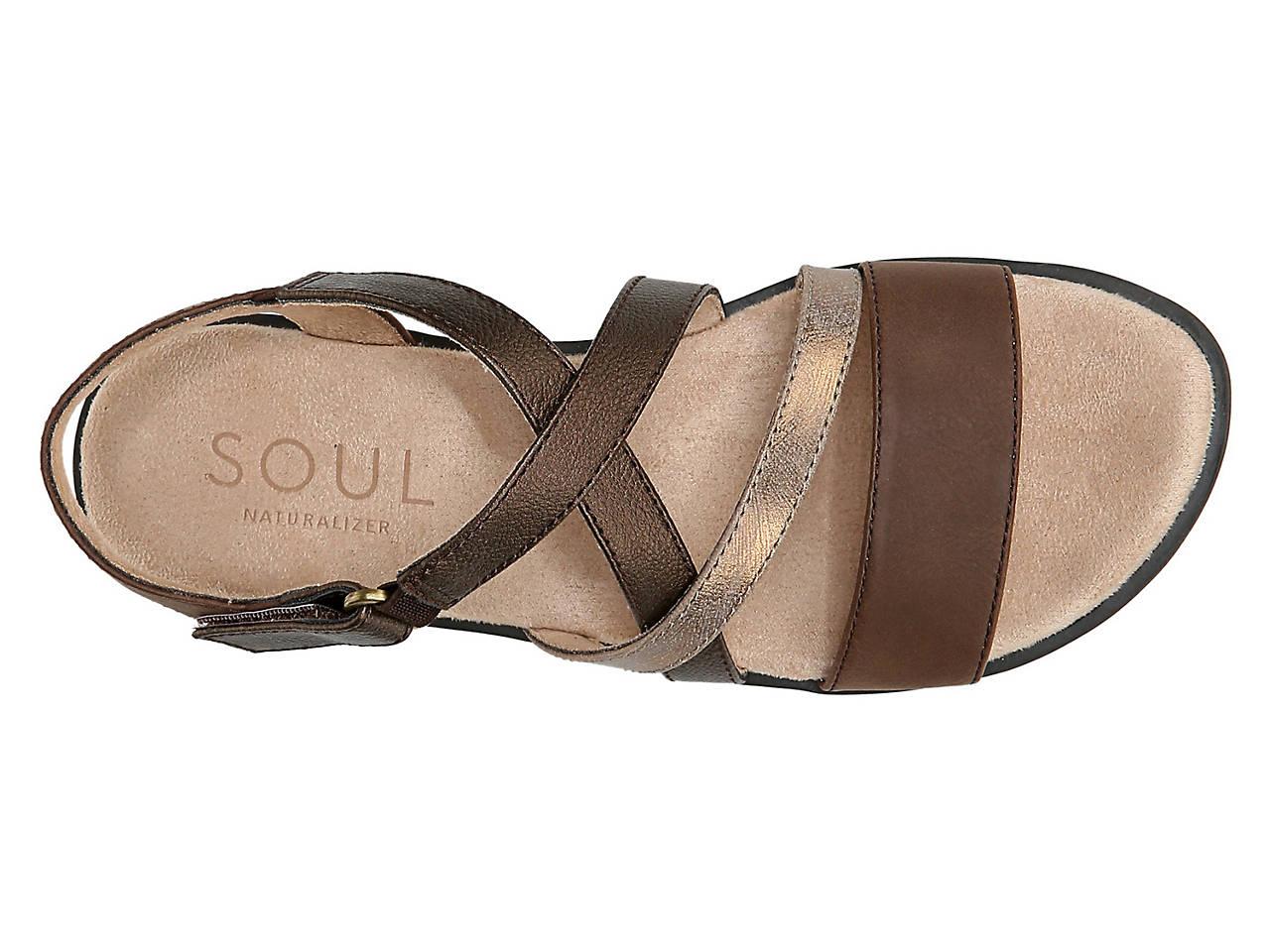 Natural Soul by Naturalizer Womens Jem Sandals Sz 9.5