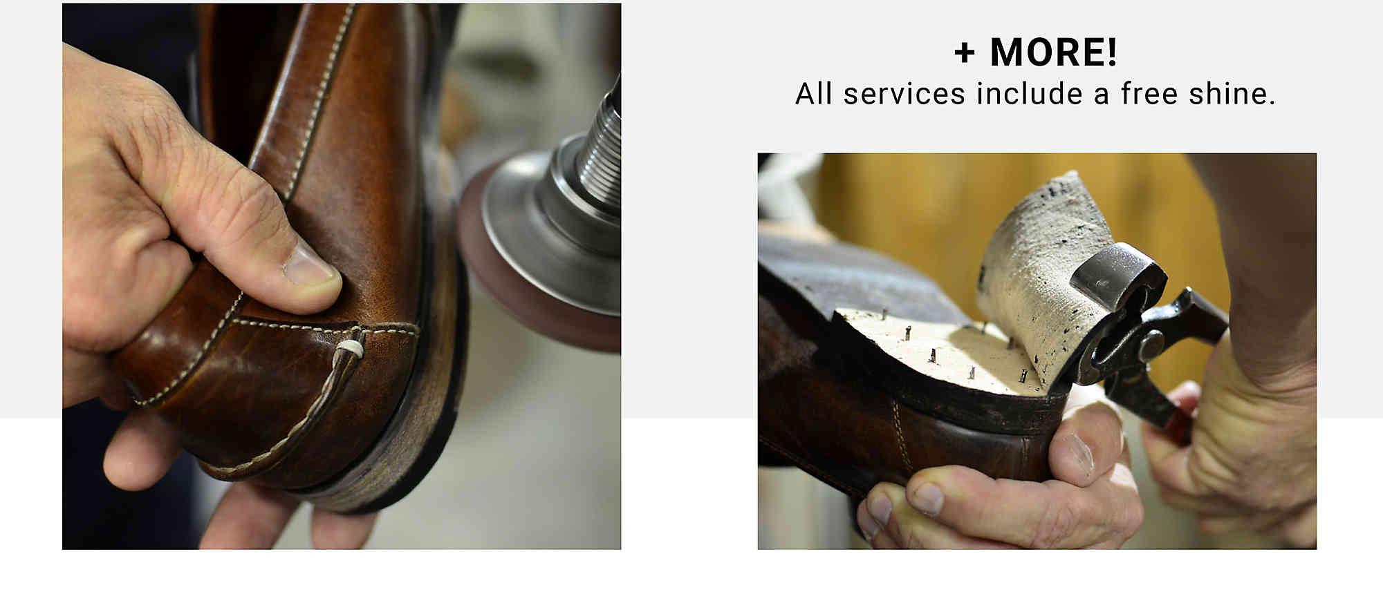 Shoe Repair Services Reparasjoner av l?rst?vler og veskeDSW Reparasjoner av l?rst?vler og veske DSW