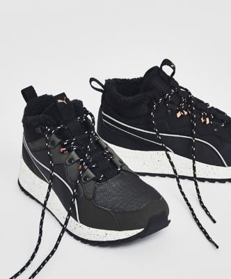 Puma Mid Platform High Top Sneakers Women's 11