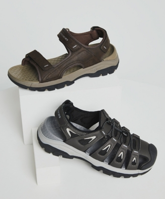 NEW Mens Flip Flops Size Medium 9 Brown Sandals Summer Shoes Pool Beach