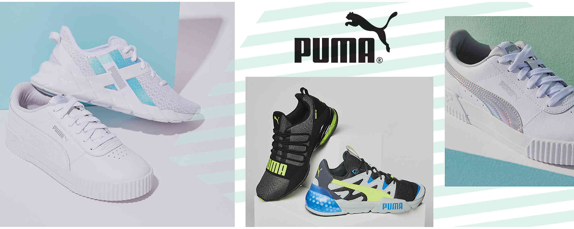 basket puma roma natural