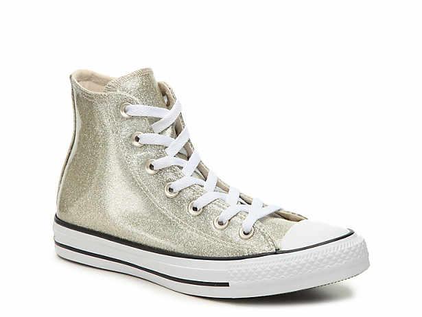 0857c1ee91290b Converse. Chuck Taylor All Star Glitter High-Top Sneaker - Women s.  Clearance ...