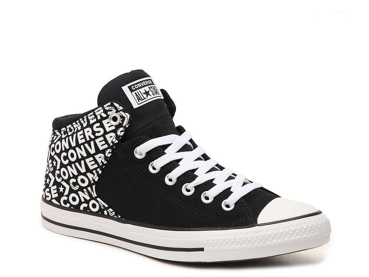 c7afa652cd861f Converse Chuck Taylor All Star Hi Street Word High-Top Sneaker - Women s  Women s Shoes