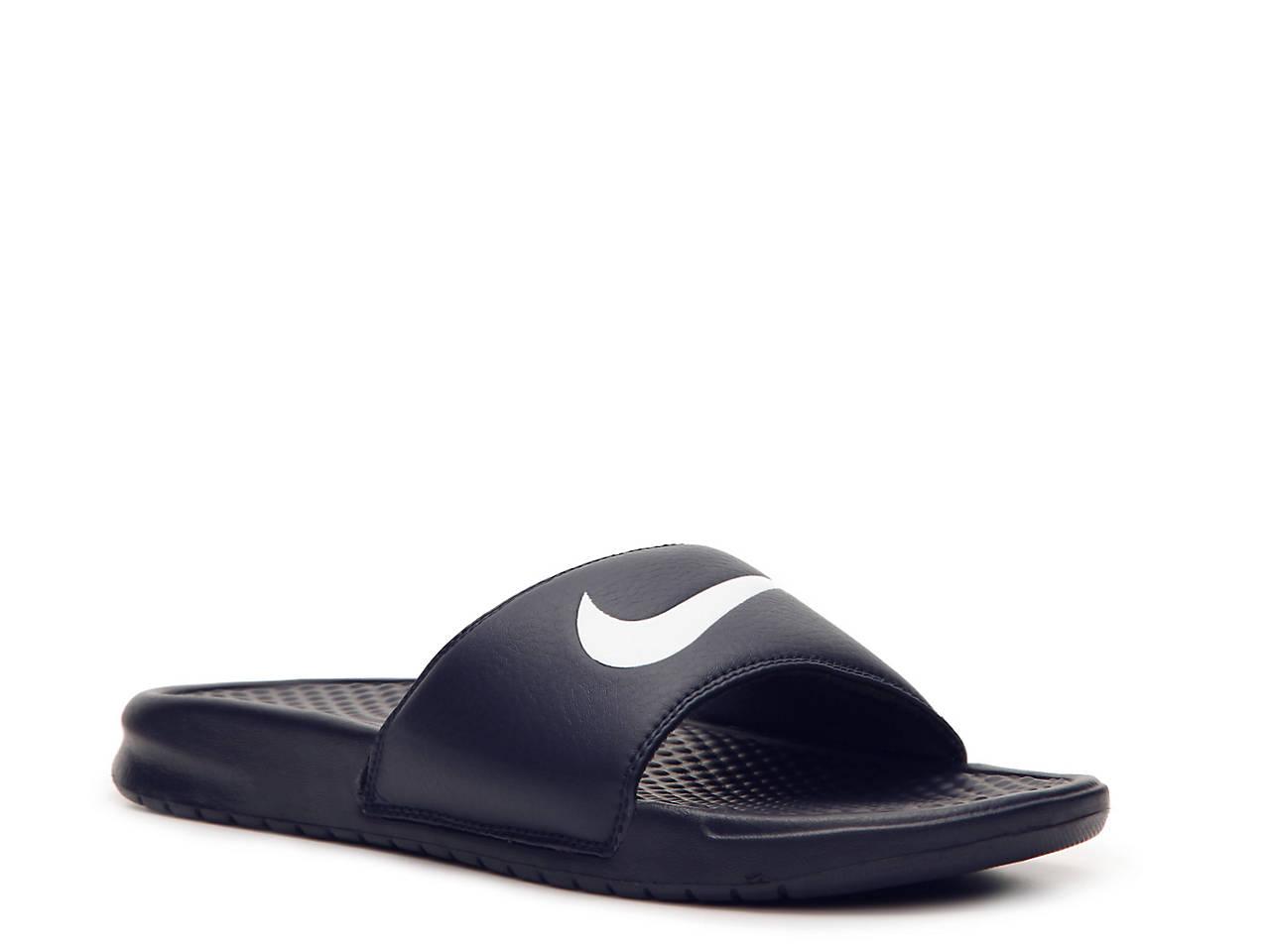 db79444a29a1 Nike Benassi Swoosh Slide Sandal - Men s Men s Shoes