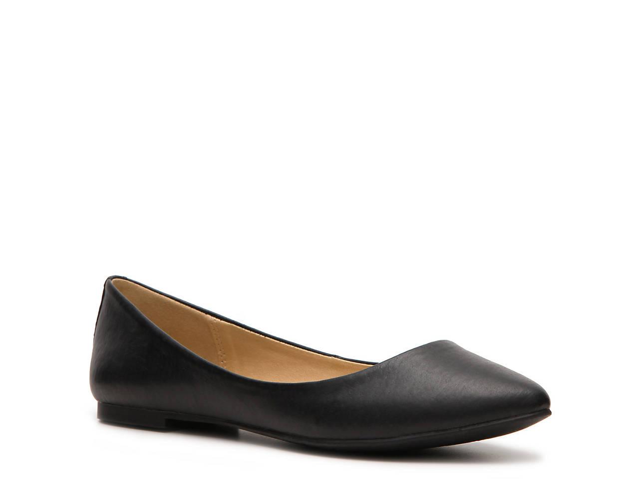 1b8636bcafcb Steve Madden Angel Leather Flat Women s Shoes