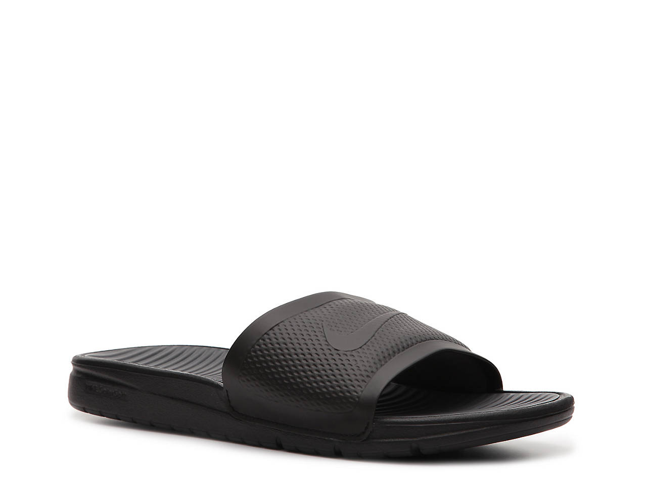 b2a8073825d97 Nike Benassi Solarsoft Slide Sandal - Men s Men s Shoes
