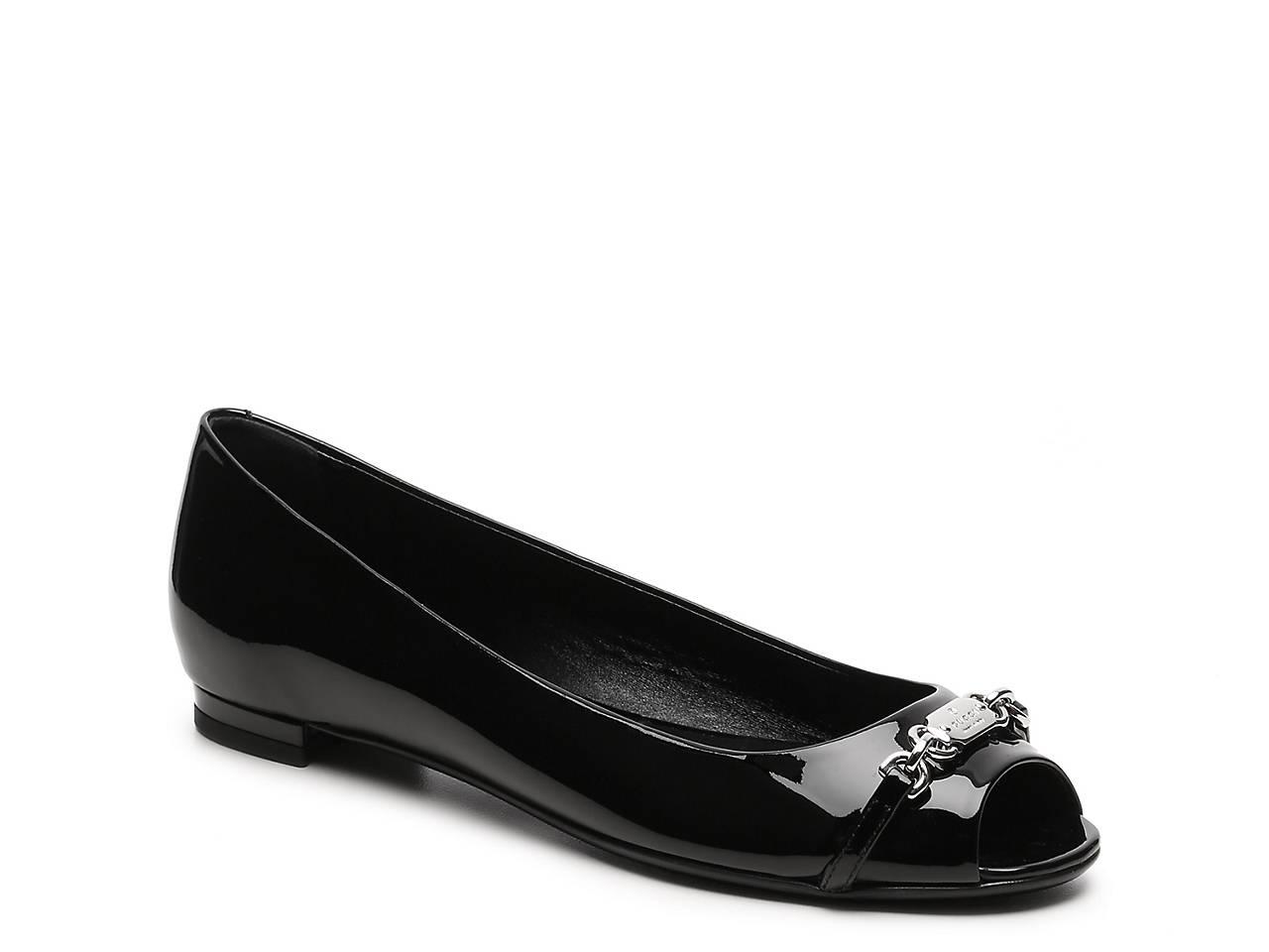 5bdec1fe69c5 Gucci - Fragrance Final Sale - Leather Nameplate Flat Men s Shoes
