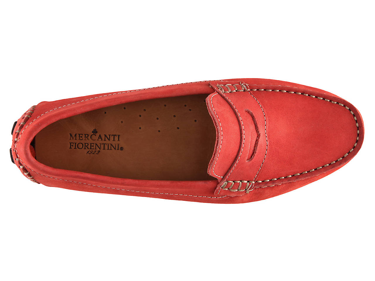 5fc5d56b6b1 Mercanti Fiorentini Nubuck Penny Loafer Women s Shoes