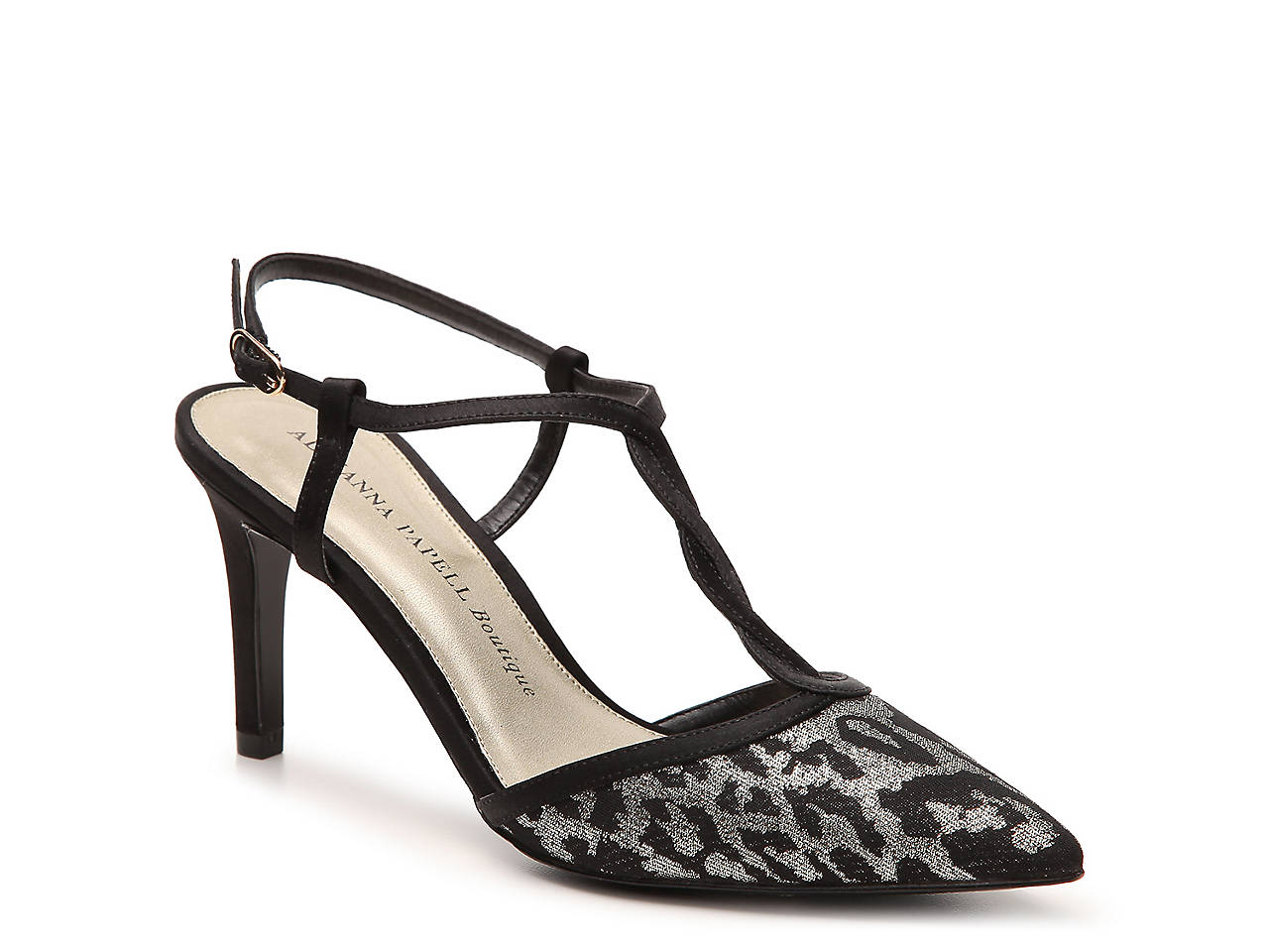 95eccb1909cd Adrianna Papell Boutique Hannah Metallic Leopard Pump Women s Shoes ...
