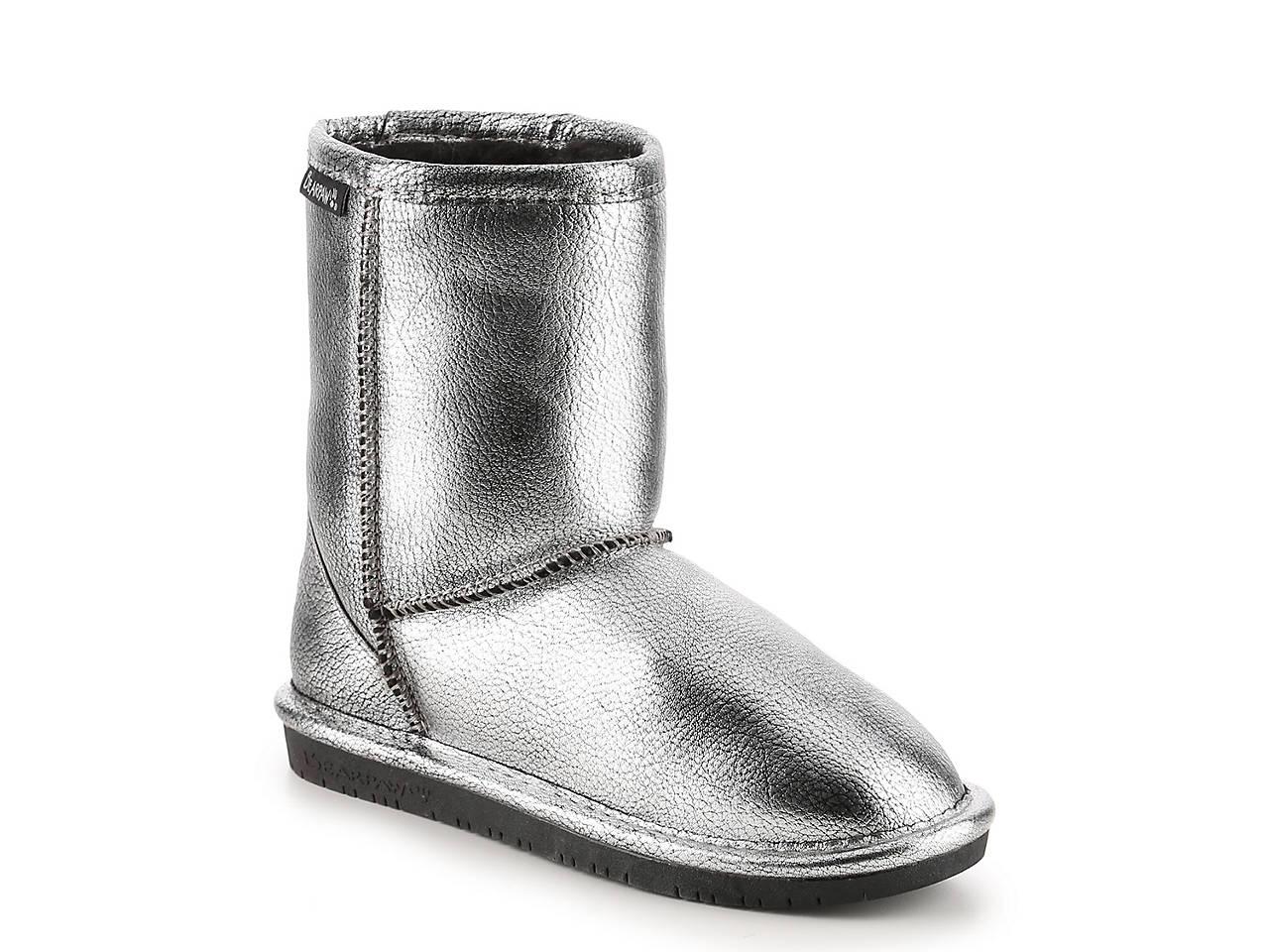 ea362ed917eff Bearpaw Emma Metallic Youth Boot Kids Shoes