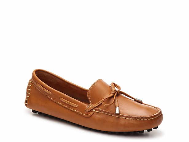 1cca4116eae Mercanti Fiorentini. Leather String Tie Loafer
