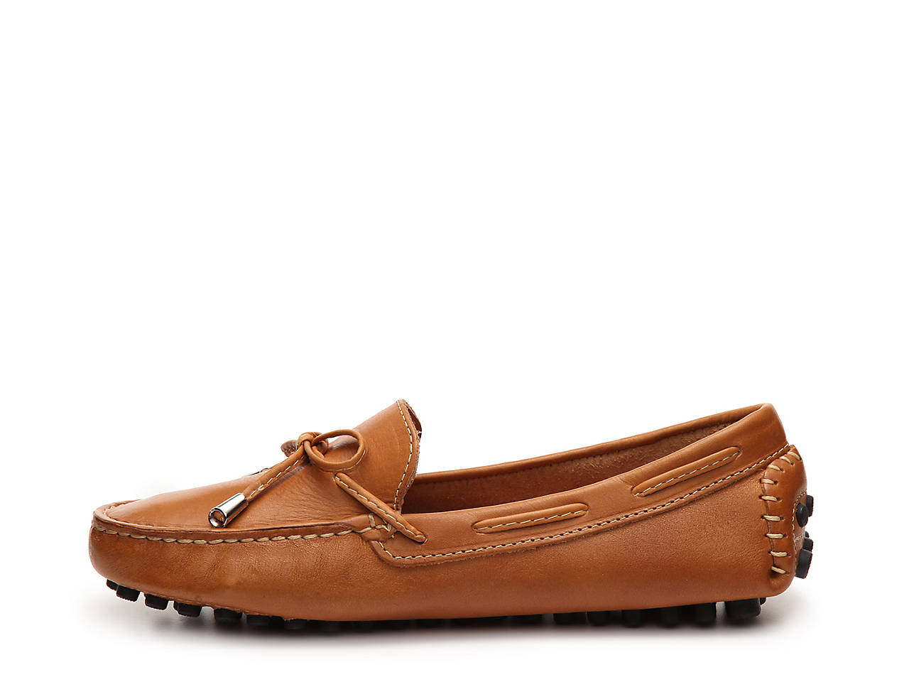 04f28aaede6 Mercanti Fiorentini Leather String Tie Loafer Women s Shoes