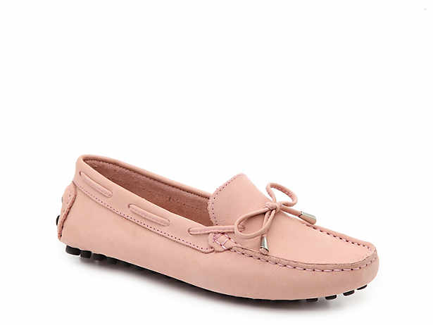 341663484b8096 Mercanti Fiorentini. Leather String Tie Loafer
