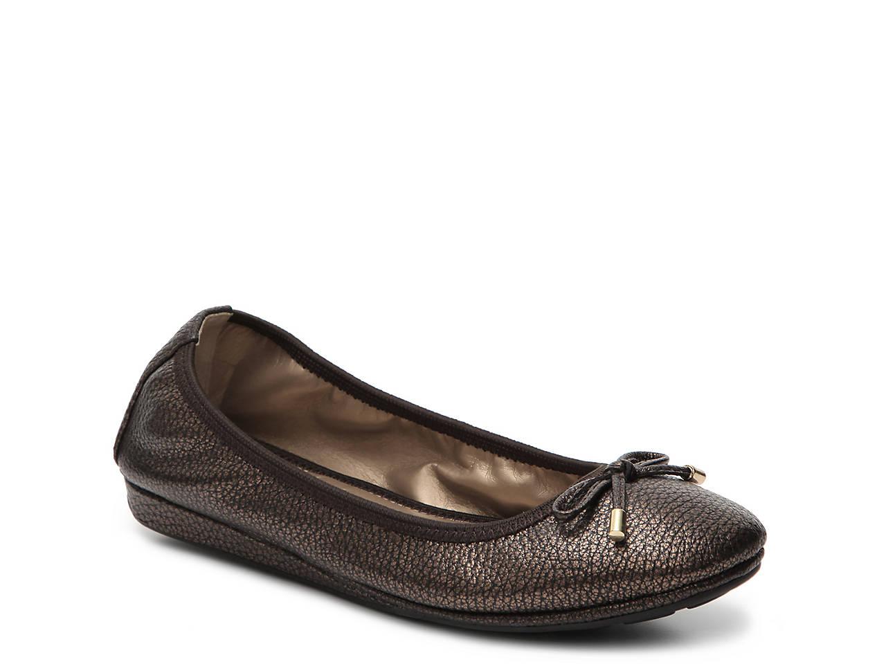 43e53d25c6 Me Too Lilo Metallic Ballet Flat Women s Shoes