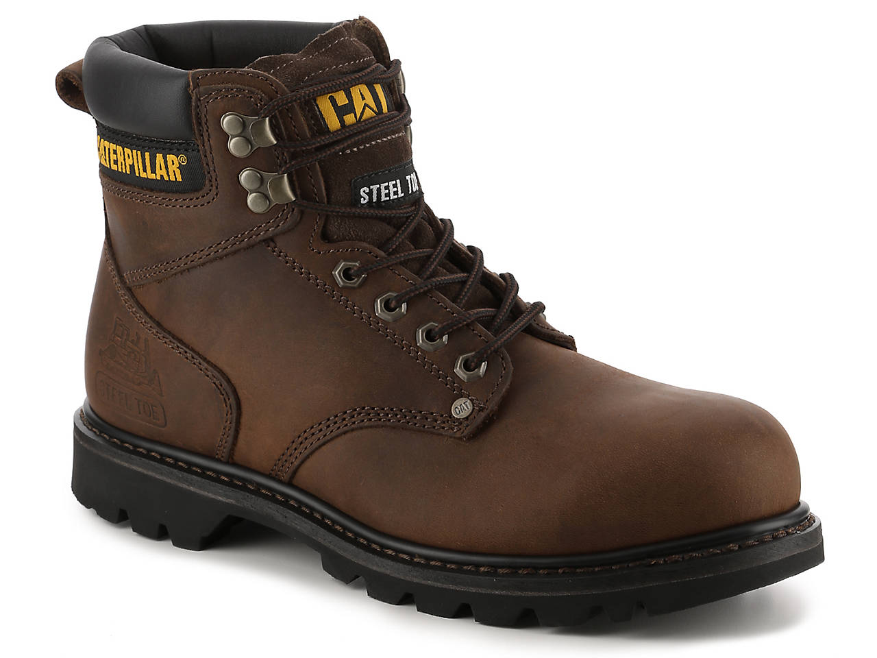 Caterpillar Second Shift Steel Toe Work Boot Mens Shoes Dsw